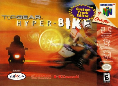 Top Gear Hyper-Bike Cover Art