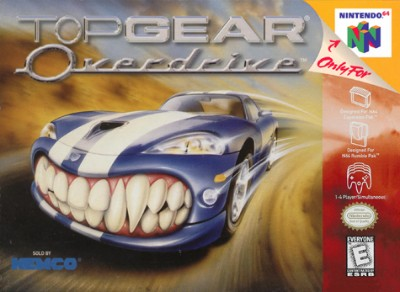 Top Gear Overdrive Cover Art