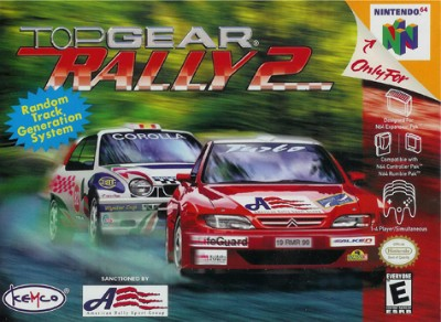 Top Gear Rally 2 Cover Art