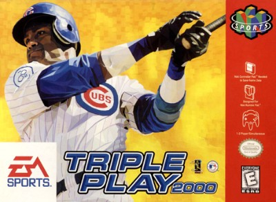 Triple Play 2000 Cover Art
