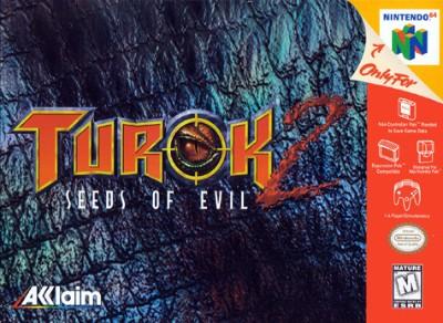 Turok 2: Seeds Of Evil Cover Art