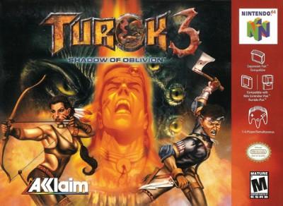 Turok 3: Shadow Of Oblivion Cover Art