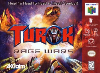 Turok: Rage Wars Cover Art