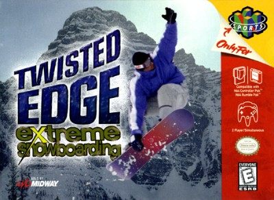 Twisted Edge Extreme Snowboarding Cover Art