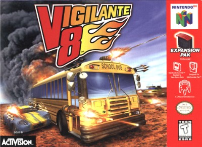 Vigilante 8 Cover Art