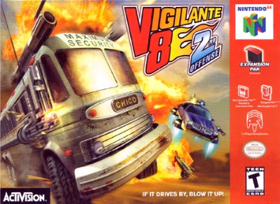 Vigilante 8: 2nd Offense Cover Art