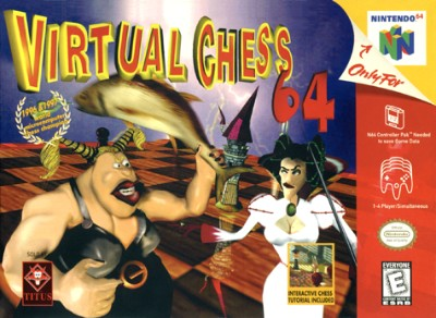 Virtual Chess 64 Cover Art