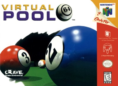 Virtual Pool 64 Cover Art