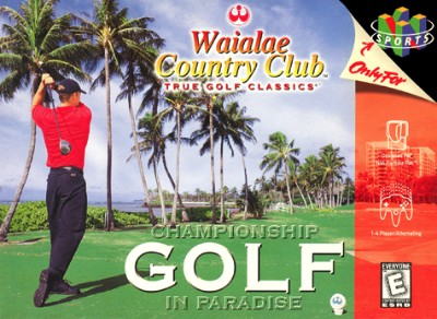 Waialae Country Club: True Golf Classics Cover Art