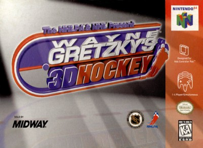 Wayne Gretzky's 3D Hockey Cover Art