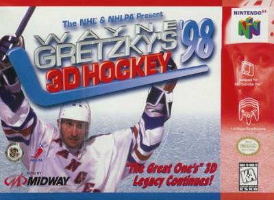 Wayne Gretzky's 3D Hockey '98 Cover Art