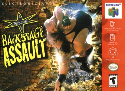 WCW Backstage Assault Cover Art