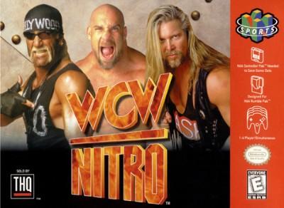 WCW Nitro Cover Art