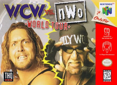 WCW vs NWO: World Tour Cover Art