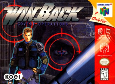 WinBack: Covert Operations Cover Art