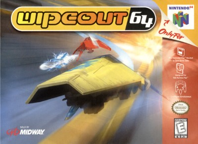 Wipeout 64 Cover Art
