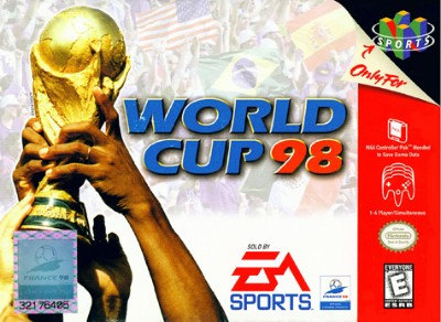 World Cup 98 Cover Art
