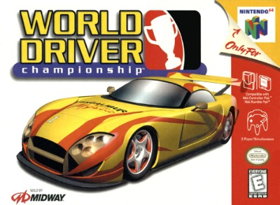 World Driver Championship Cover Art
