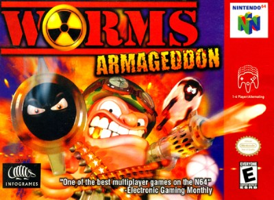 Worms: Armageddon Cover Art