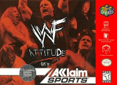 WWF: Attitude Cover Art