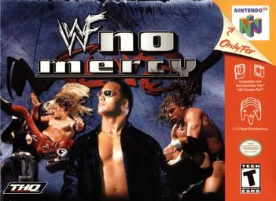 WWF: No Mercy Cover Art