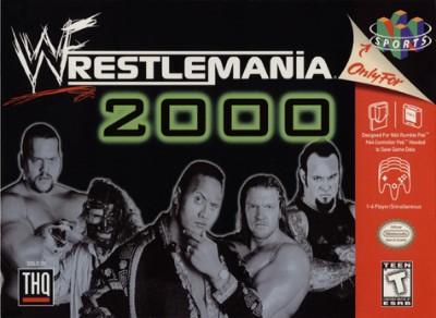 WWF Wrestlemania 2000 Cover Art
