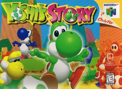Yoshi's Story Cover Art