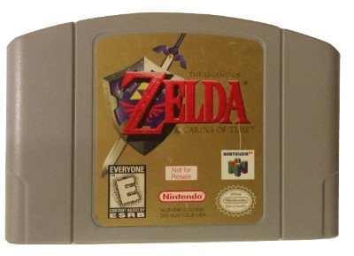Legend of Zelda: Ocarina of Time [Not For Resale] Cover Art