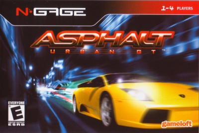 Asphalt Urban GT Cover Art