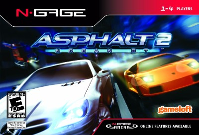 Asphalt Urban GT 2 Cover Art