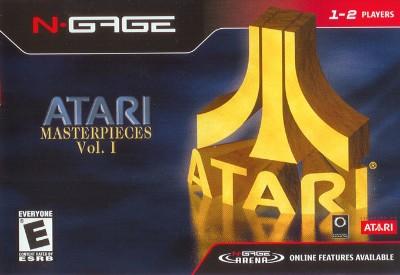 Atari Masterpieces Vol. 1 Cover Art