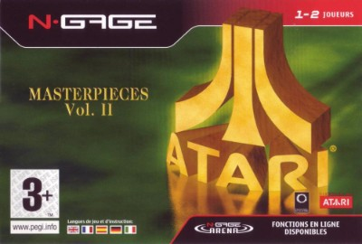 Atari Masterpieces Vol. 2 Cover Art