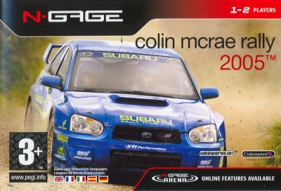 Colin McRae Rally 2005 Cover Art