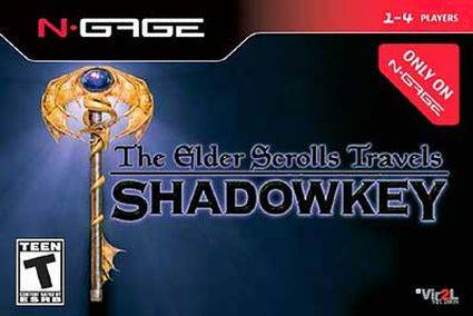 Elder Scrolls Travels: Shadowkey Cover Art