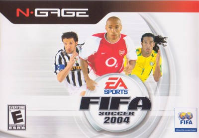 FIFA Soccer 2004 Cover Art