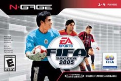 FIFA Soccer 2005 Cover Art