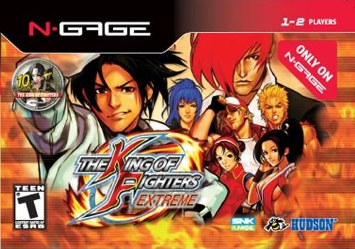 King of Fighters: Extreme Cover Art
