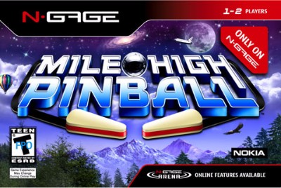 Mile High Pinball Cover Art