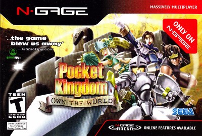 Pocket Kingdom: Own the World Cover Art