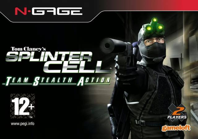 Tom Clancy's Splinter Cell: Team Stealth Action Cover Art