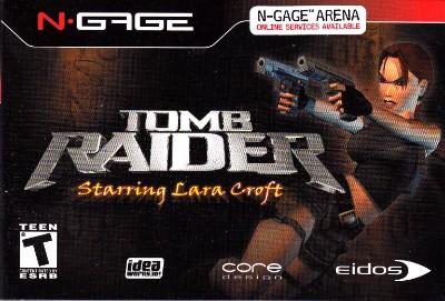 Tomb Raider Starring Lara Croft Cover Art