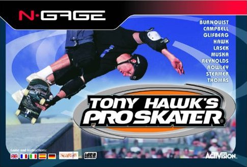 Tony Hawk's Pro Skater Cover Art