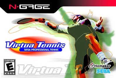 Virtua Tennis Cover Art