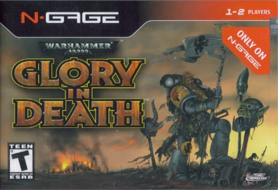 Warhammer 40,000: Glory in Death Cover Art