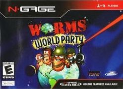 Worms World Party Cover Art
