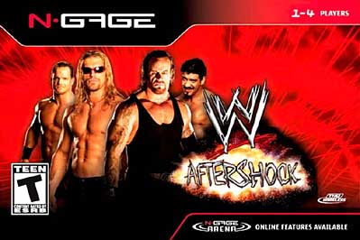WWE Aftershock Cover Art