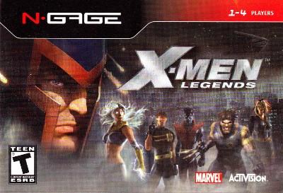 X-Men Legends Cover Art