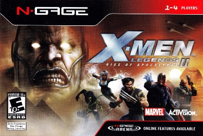 X-Men Legends II: Rise of Apocalypse Cover Art