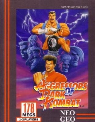 Aggressors of Dark Kombat Cover Art