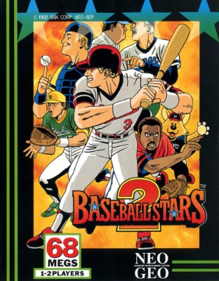 Baseball Stars 2 Cover Art